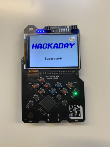 Hackaday Supercon Conference Badge
