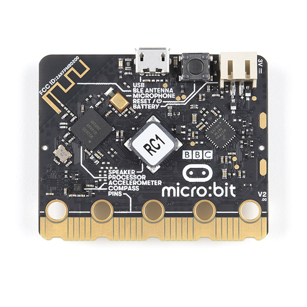 New micro:bit 2.0 Back