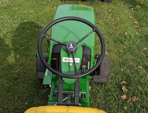 Mower Steering Wheel