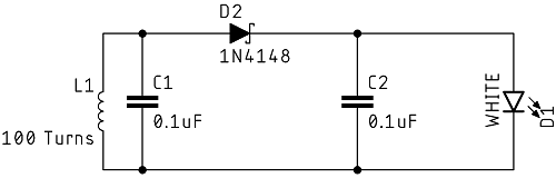 Wireless Power Transfer Secondary Schematic