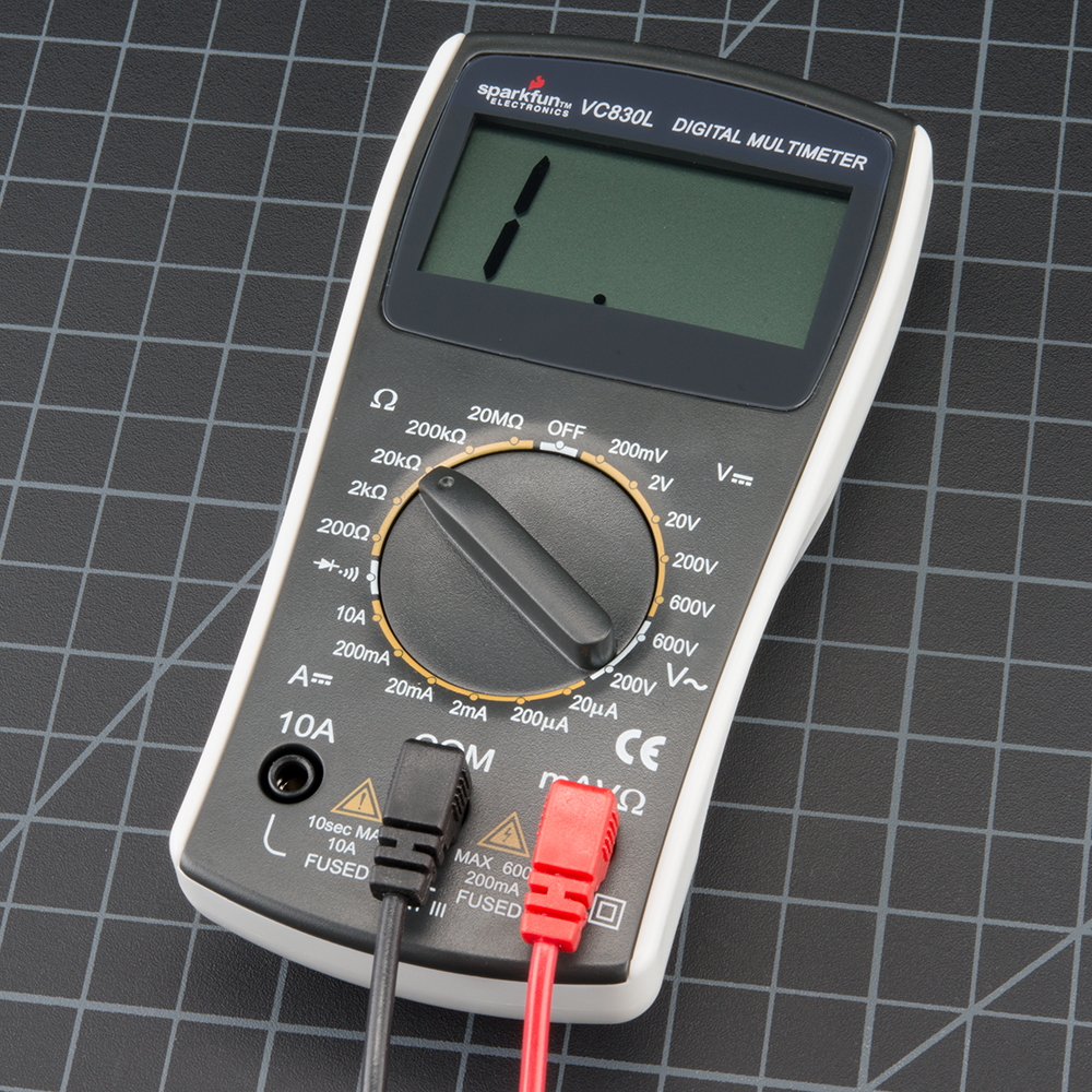 How To Use A Multimeter Learn Sparkfun Com