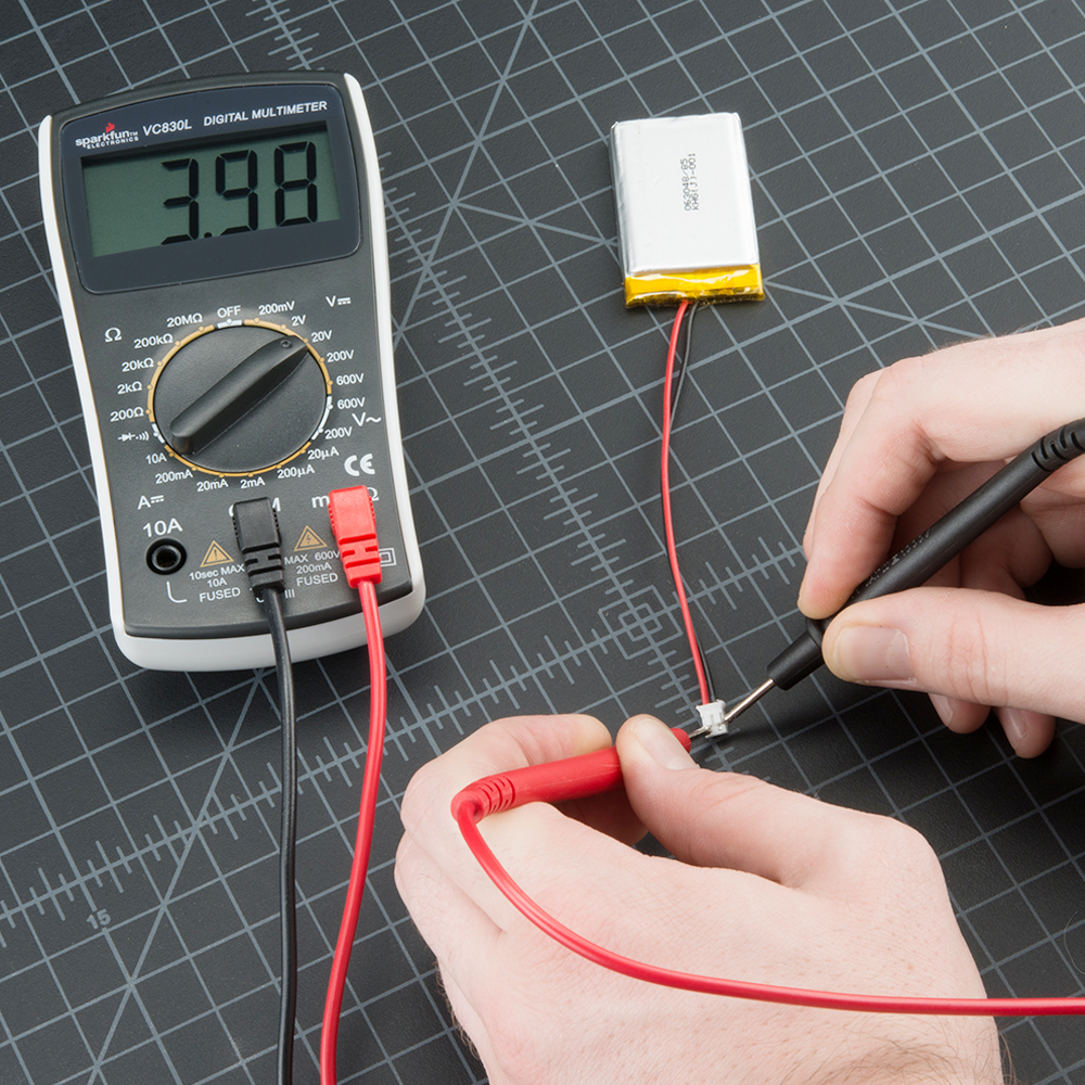 Connect A Simple Circuit With Voltmeter And Ammeter As Shown How To Use Multimeter Using
