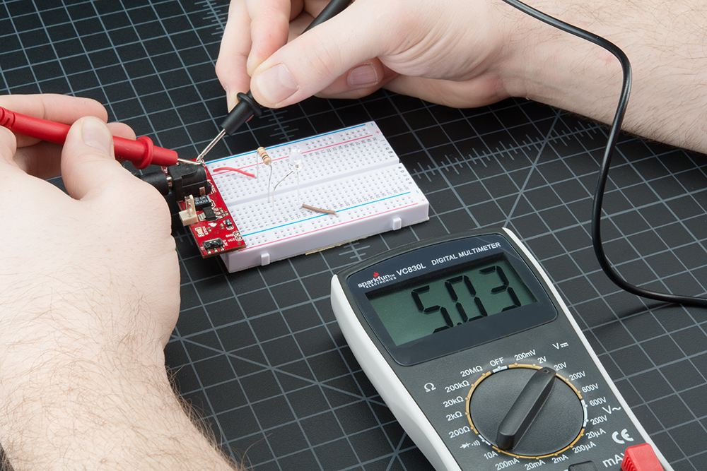 How To Use A Multimeter Learnsparkfun