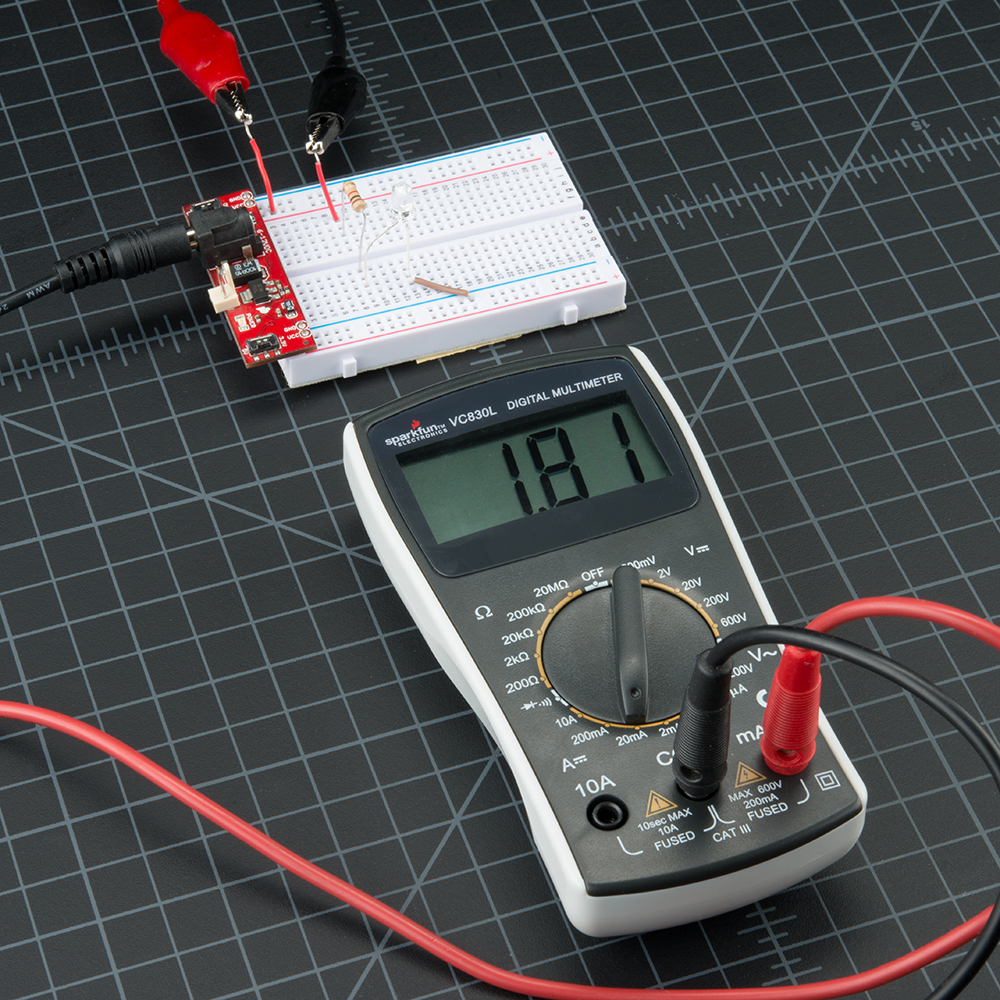 Awe Inspiring How To Use A Multimeter Learn Sparkfun Com Wiring 101 Taclepimsautoservicenl