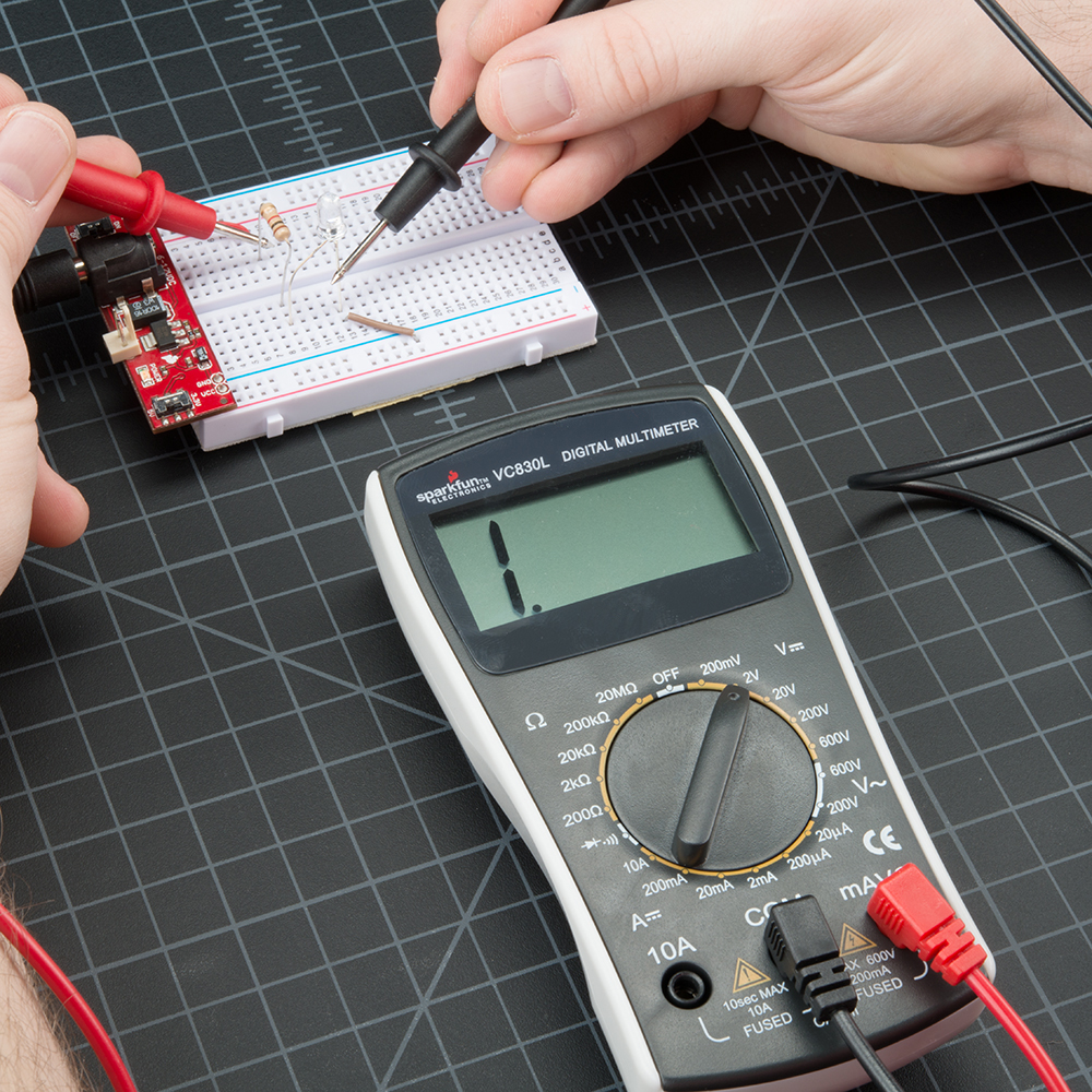 How To Use A Multimeter This Circuit Is Very Basic In Setup And Operation Alt Text