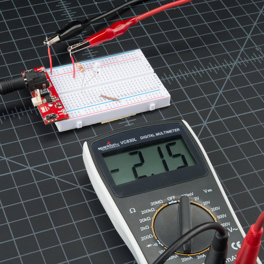 How to Use a Multimeter - learn sparkfun com