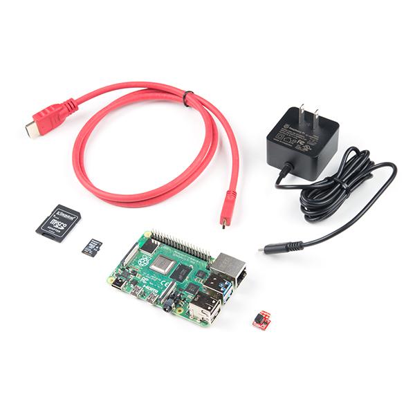 Pi 4 Basic Kit in Parts