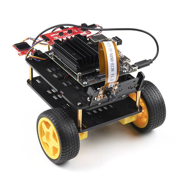 Completed JetBot 2GB Kit
