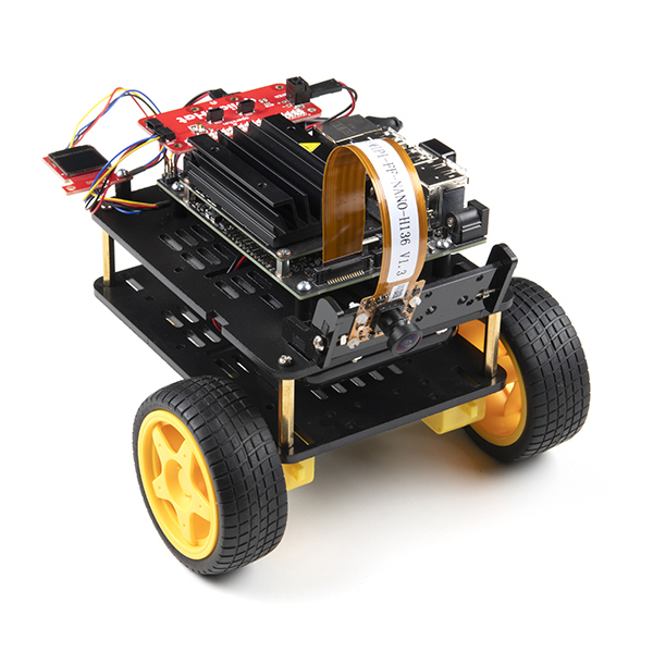 Completed JetBot 4GB Kit