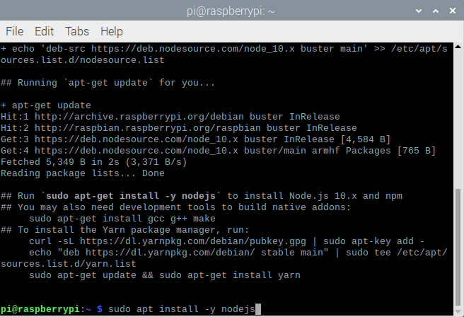 Step2_-_Installing NodeJS