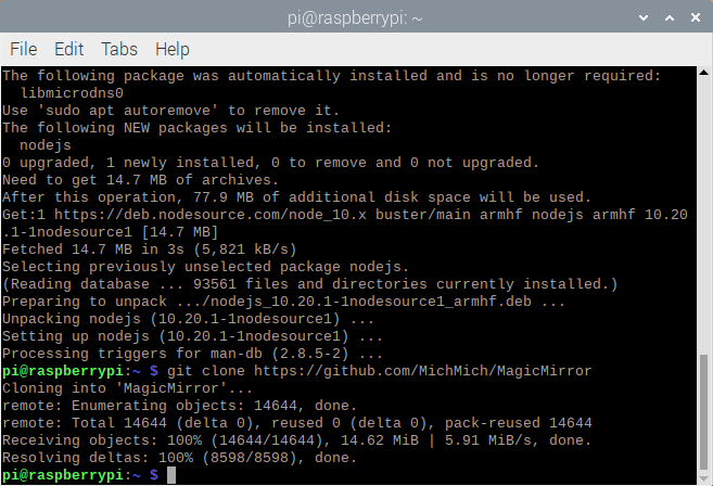 Step3-Cloning the Git Repo Complete