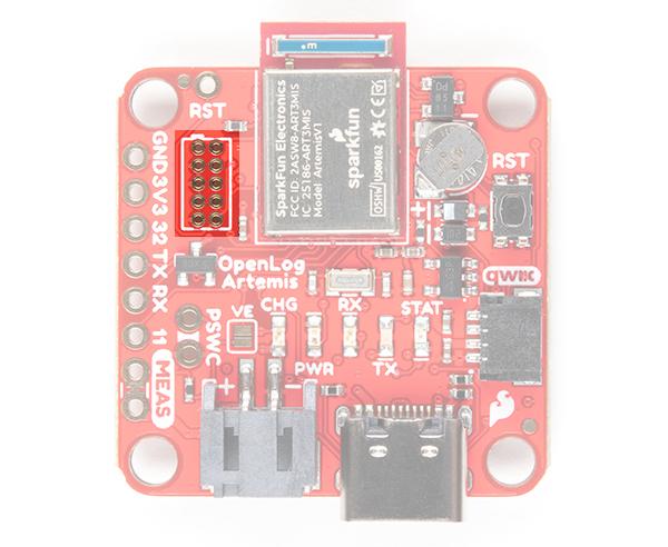 SWO Programming Pins