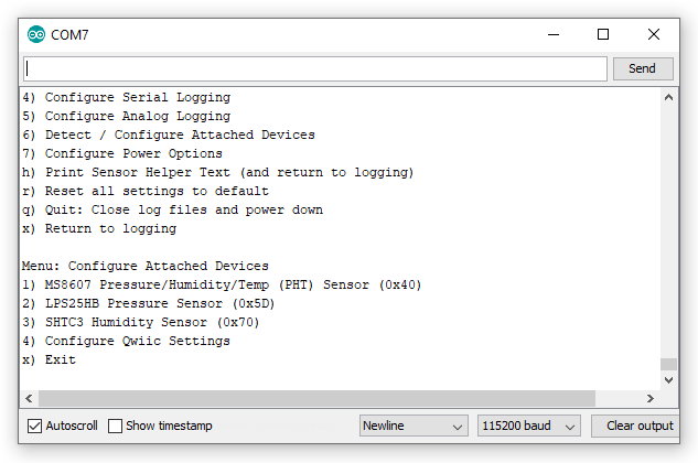 Configure Attached Defvices