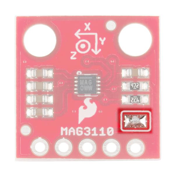 MAG3110 Pull-up Pad