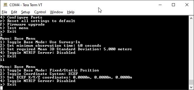 SparkFun RTK Surveyor Configuration