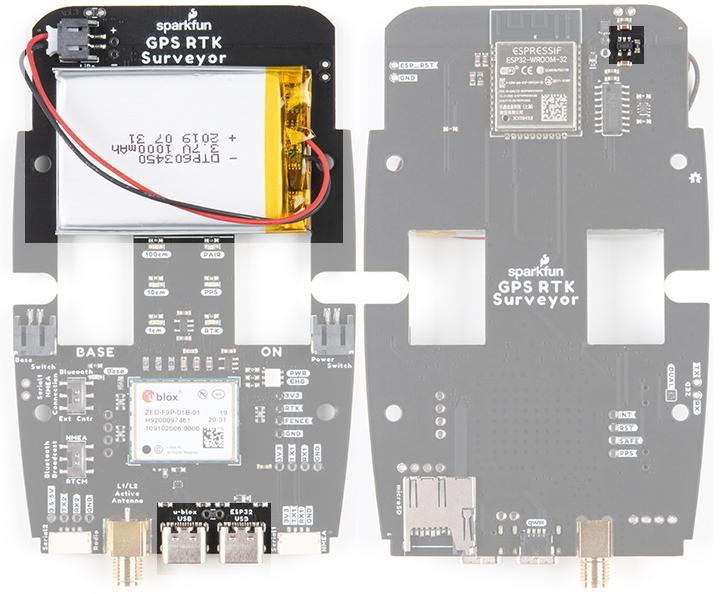 LiPo and Charging on SparkFun RTK Surveyor