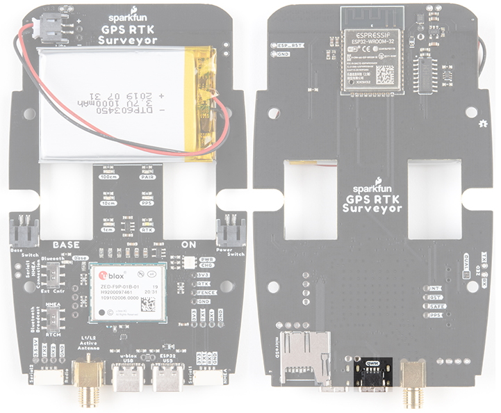 Qwiic Connector on SparkFun RTK Surveyor