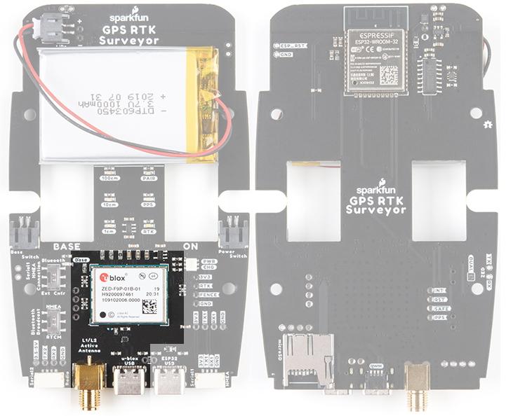 ZED-F9P GNSS Receiver