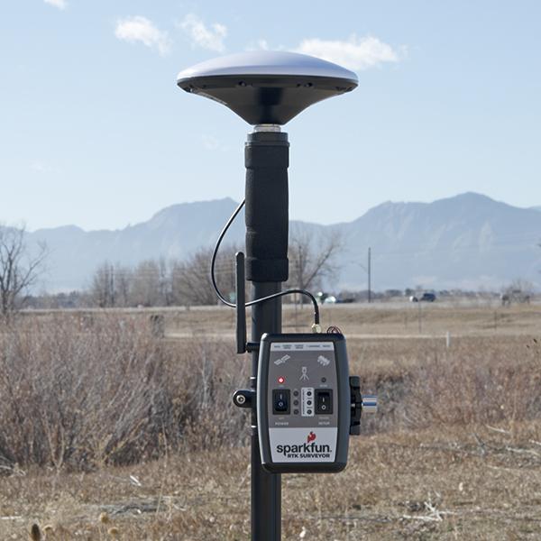 RTK Surveyor Rover setup with radio