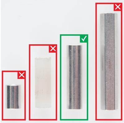 4-40 x 1 inch Metal Standoff