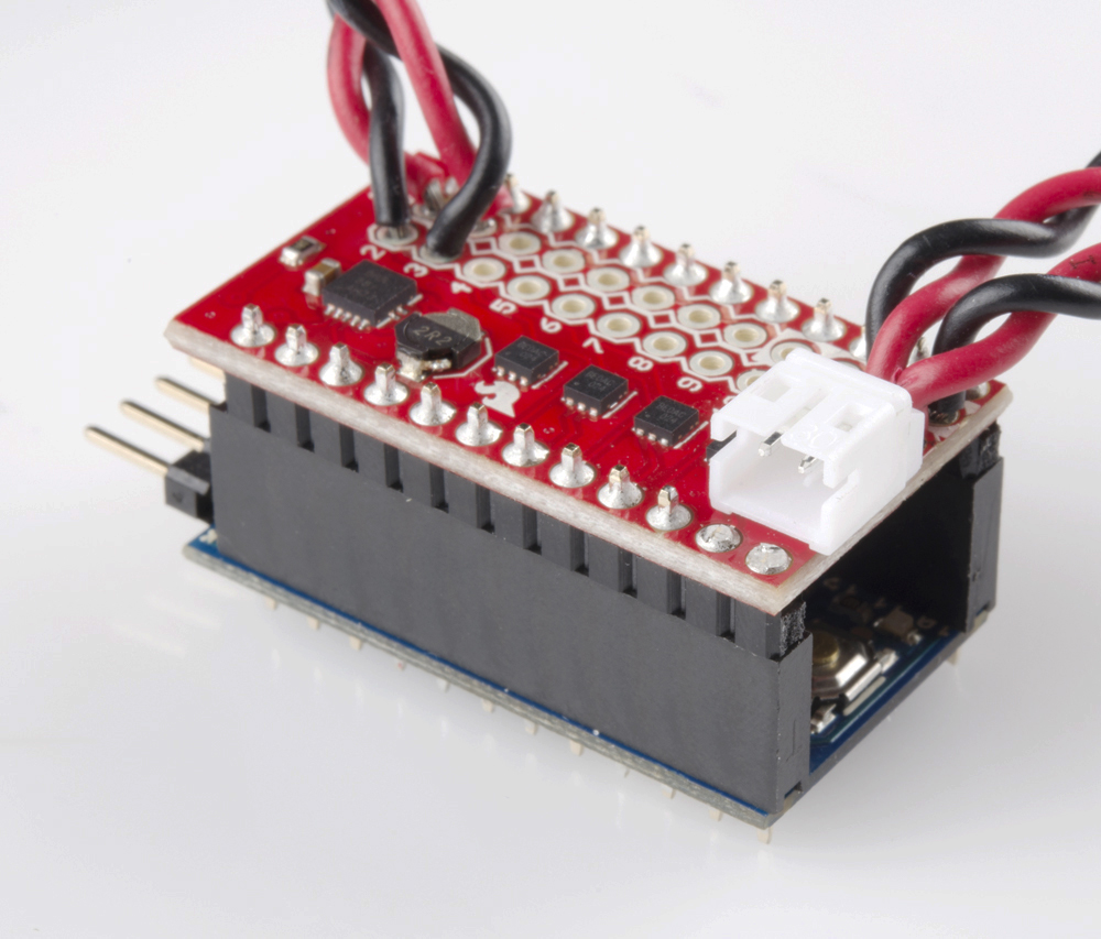 Mini Fet Shield Hookup Guide Electronic Project Circuit Battery Connector