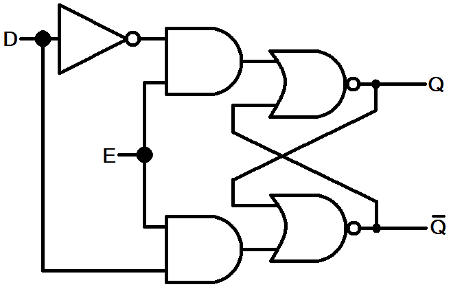 D latch circuit