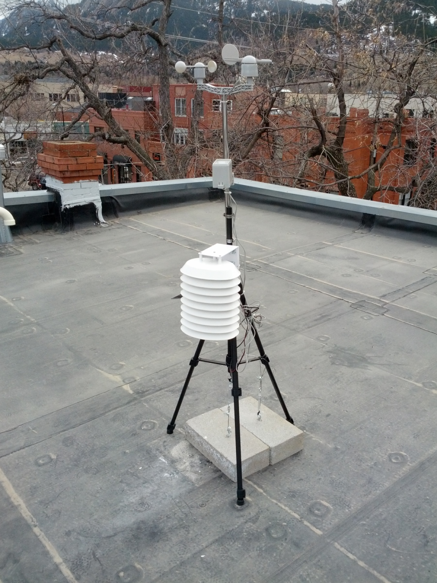 Weather Station Wirelessly Connected To Wunderground Learn