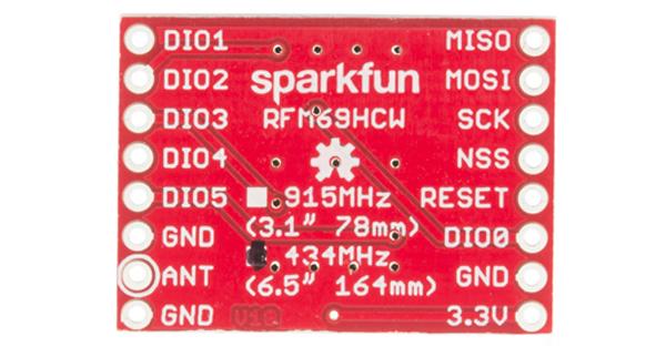 RFM69HCW Hookup Guide - learn sparkfun com