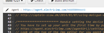 Agent URL