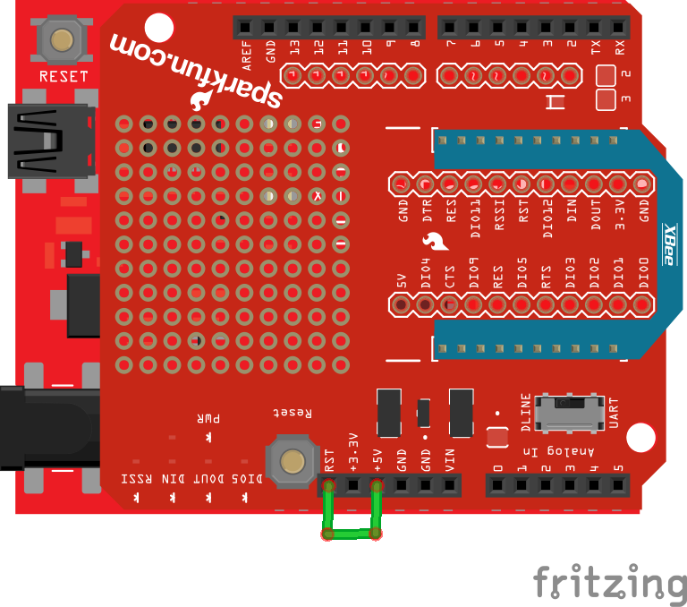 XBee Shield Hookup Guide - learn sparkfun com