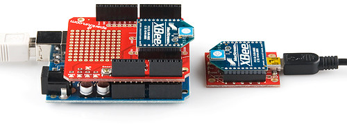 XBee Shield and XBee USB Explorer