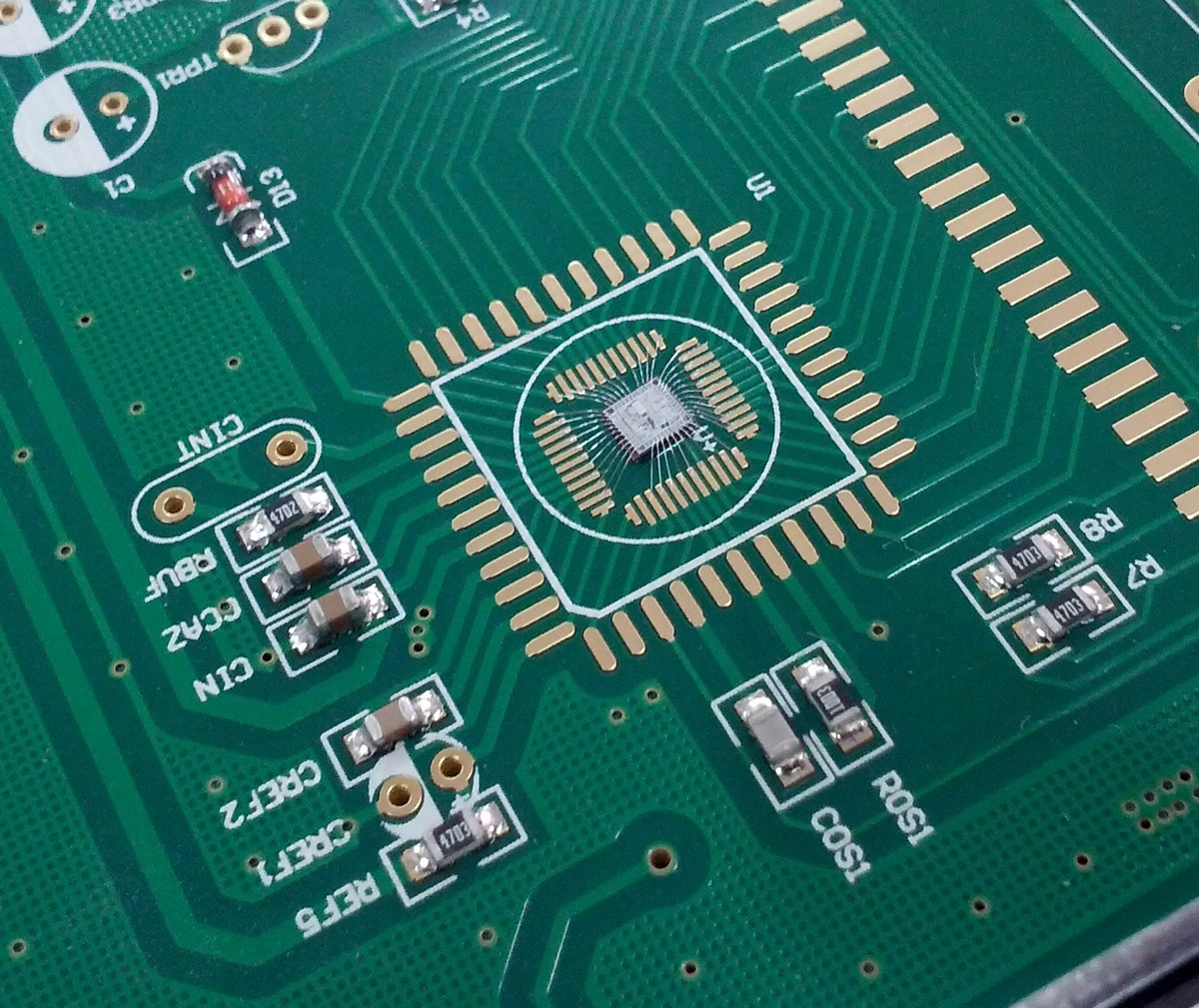 How Chip On Boards Are Made Sale Printed Circuit Board Designer Ic With Hair Like Wire Connections