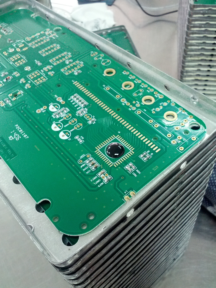 How Chip On Boards Are Made There 2 The Main Board And A Second One For Controls Black Blob Of Compound