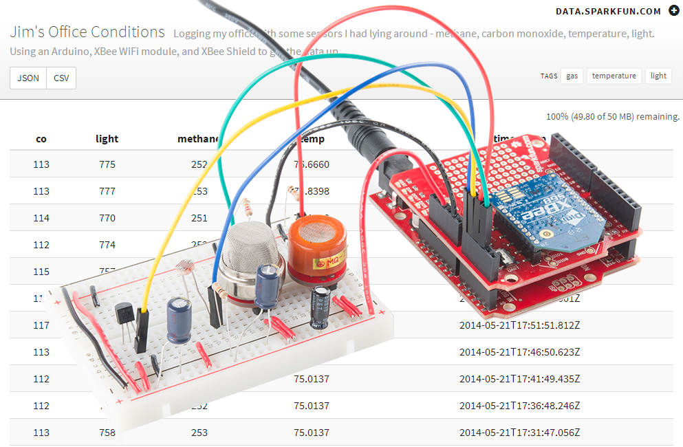 Data Acquisition Transducer Testing Setup : Internet datalogging with arduino and xbee wifi learn