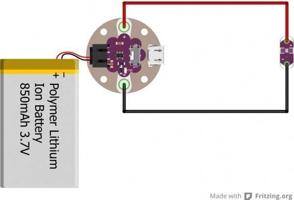 Basic Simple Power Circuit