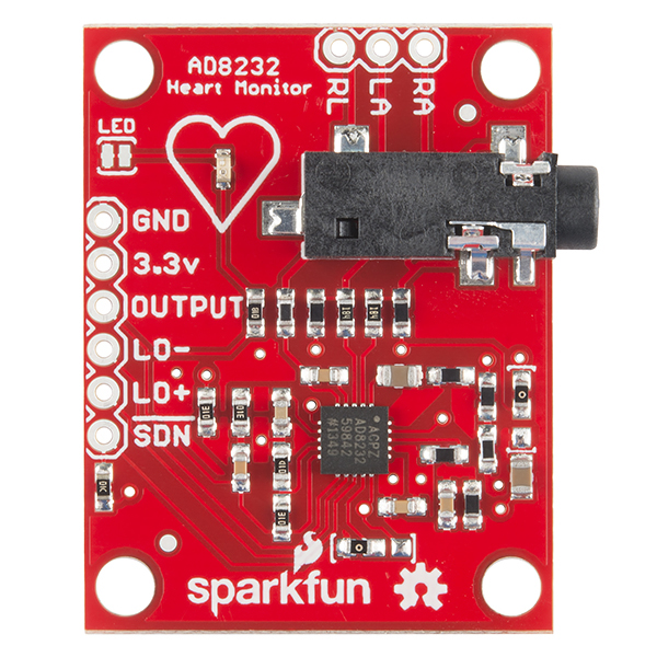 AD8232 Heart Rate Monitor Hookup Guide learn sparkfun com