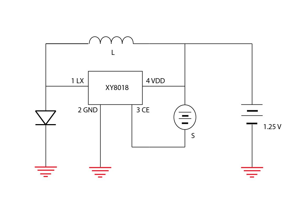 original solar light schematic