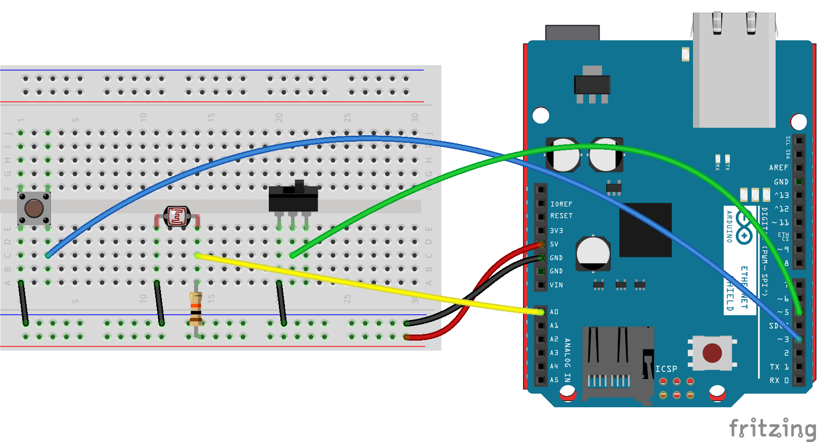 Lesson 4b arduino and ethernet shields youtube.