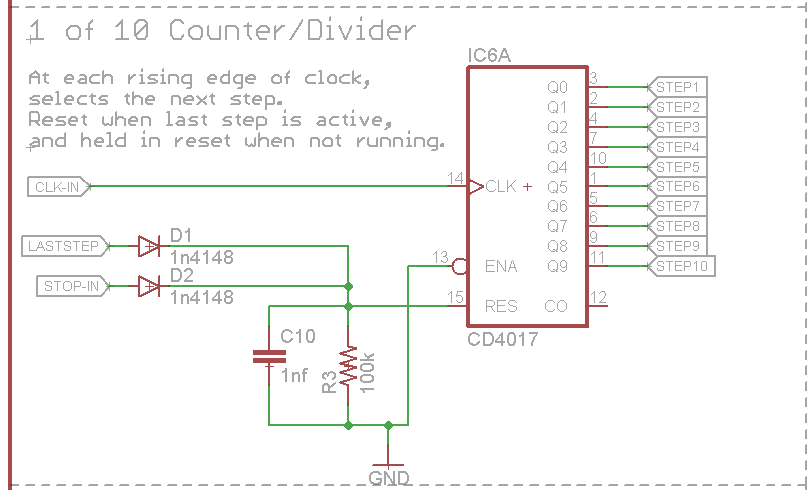 sparkpunk sequencer theory and applications guide learn sparkfun com rh learn sparkfun com Frequency Counters with Dividers Mains Frequency Divider