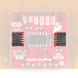 Annotated image of  Qwiic connectors