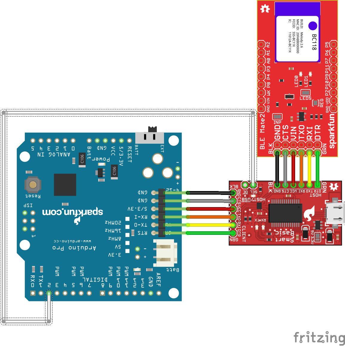 BC118 BLE Mate 2 Hookup Guide - learn sparkfun com