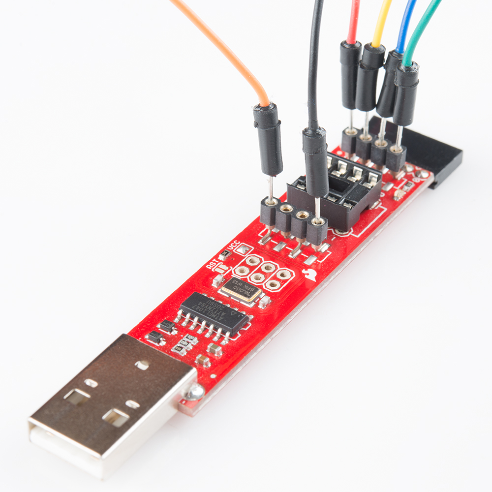 Installing A Bootloader On The Microview Programmer Avr Your Usb Circuit Diagram Nonstopfree Electronic Then Proceed To Wiring Section