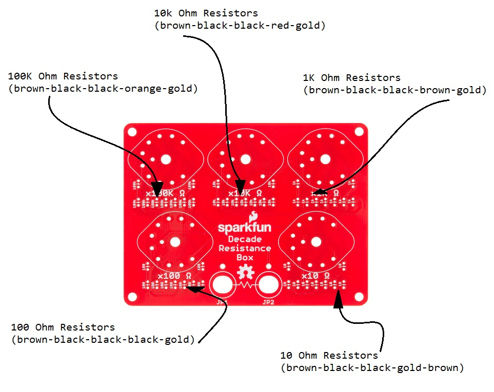 Decade Resistance Box Hookup Guide - learn.sparkfun.com on