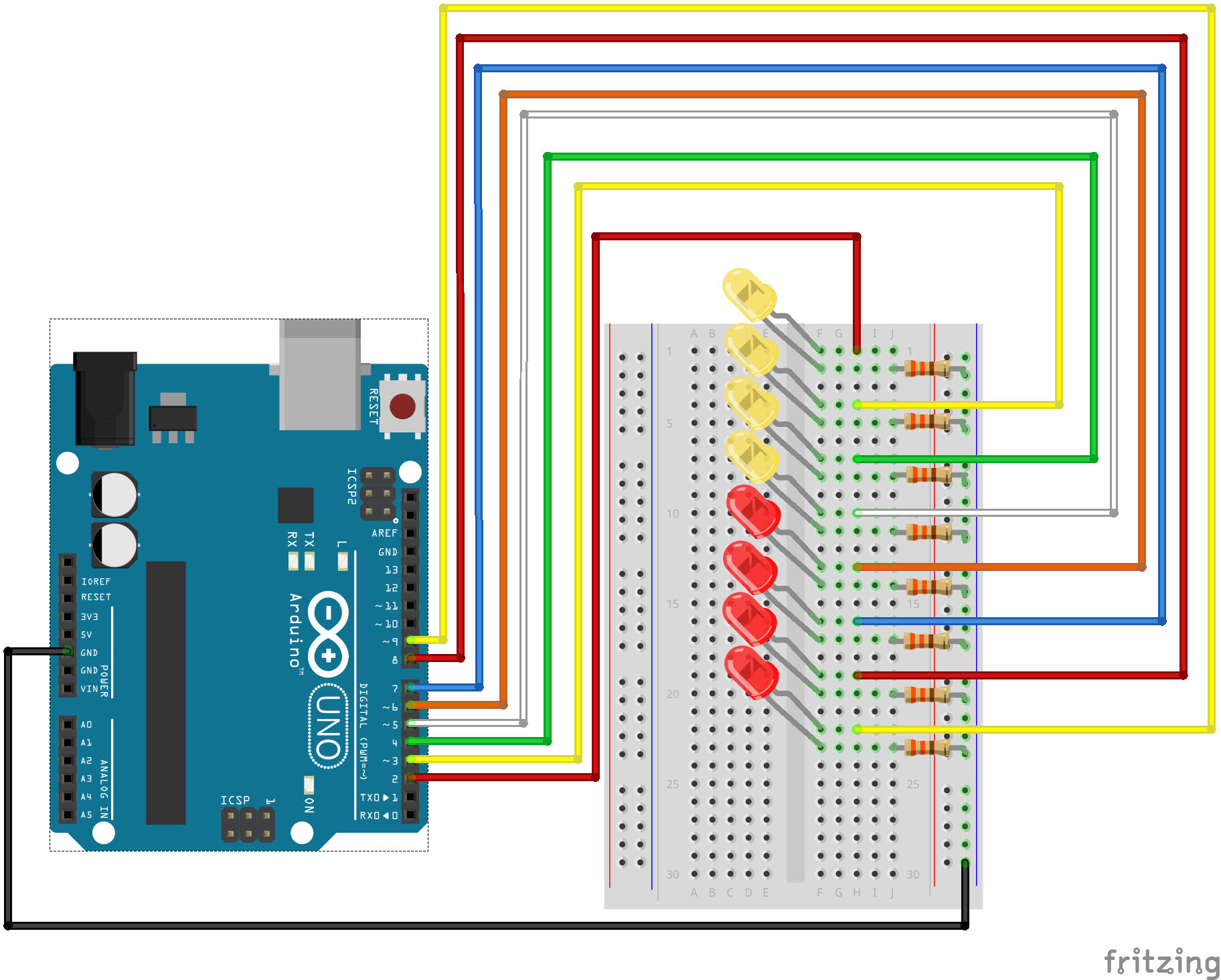 Sik Experiment Guide For Arduino V32 Led Light Diagram Alt Text