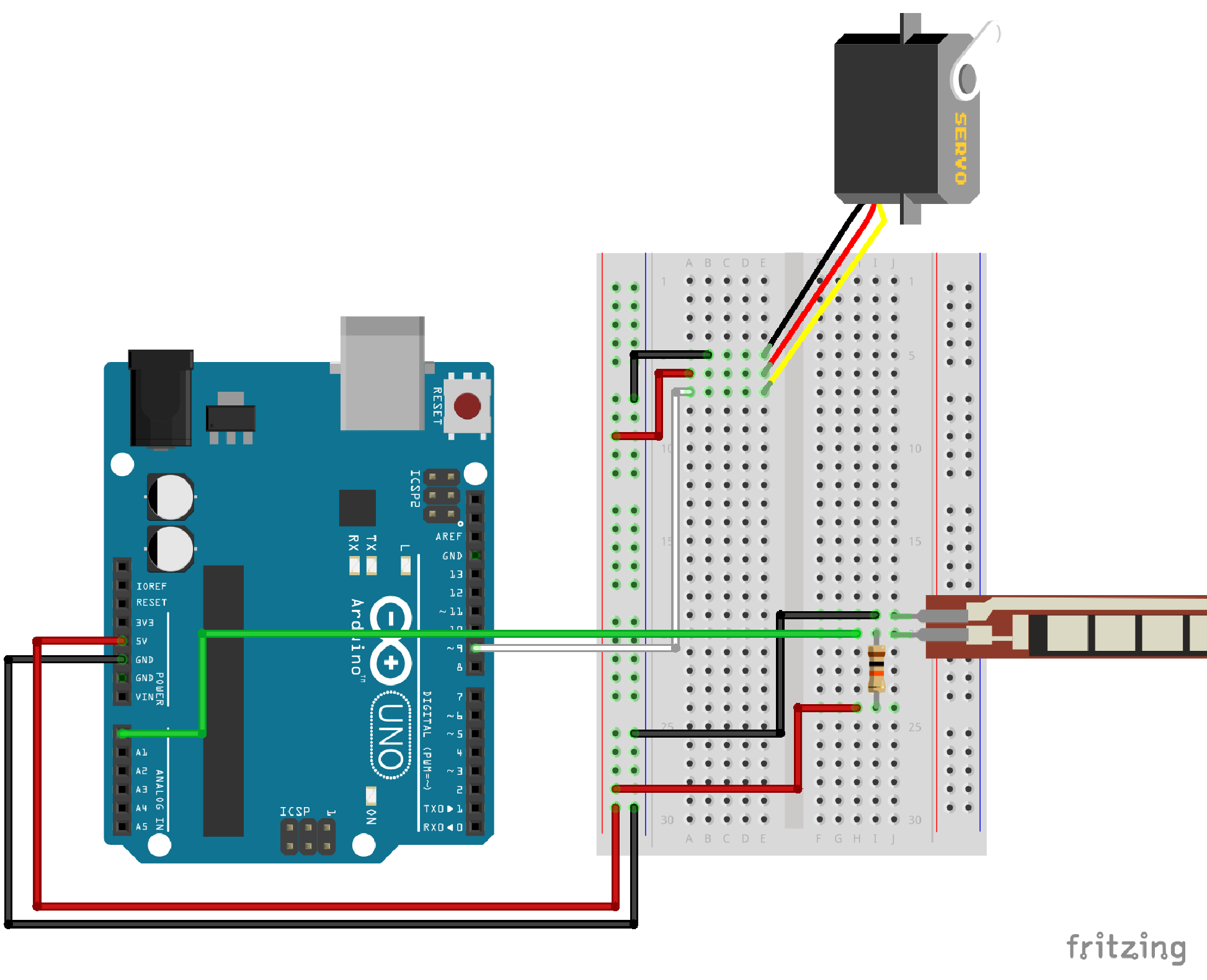 Arduino Servo Wiring Diagram Free Download Light Sensor Circuit Page 3 Sensors Detectors Circuits Nextgr Sik Experiment Guide For V3 2 Learn Sparkfun Com
