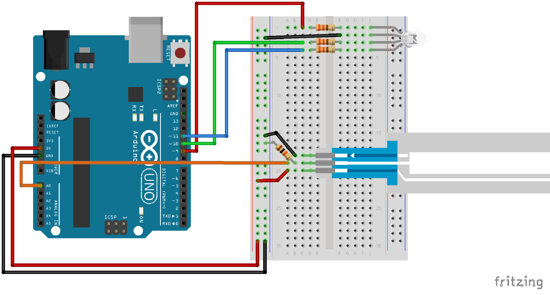 Sik Experiment Guide For Arduino V32 Wiring Diagram Further Motion Sensor Light Additionally Fritzing