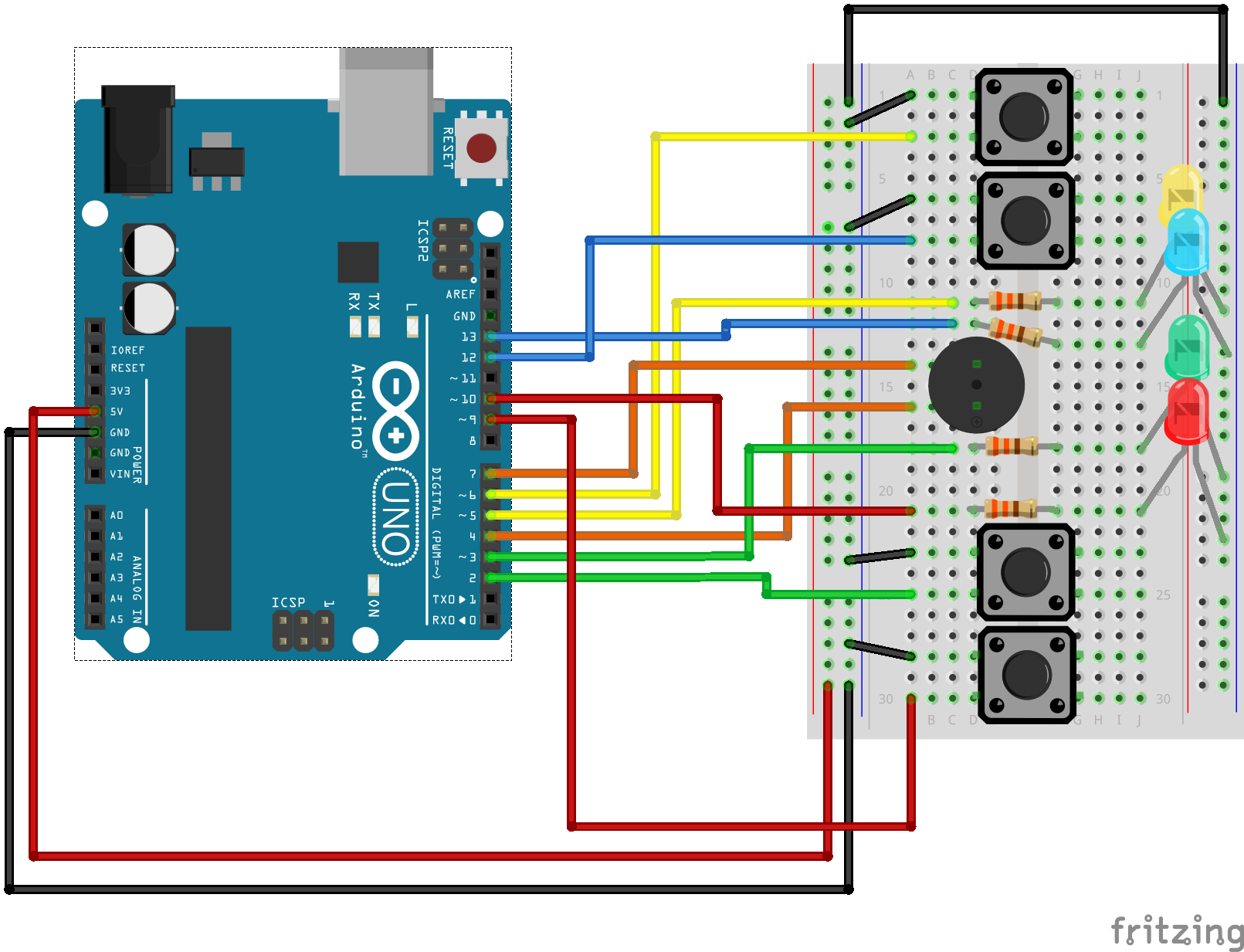 Sik Experiment Guide For Arduino V32 Use A 74ls00 Chip To Implement The Switch Debounce Circuit Alt Text