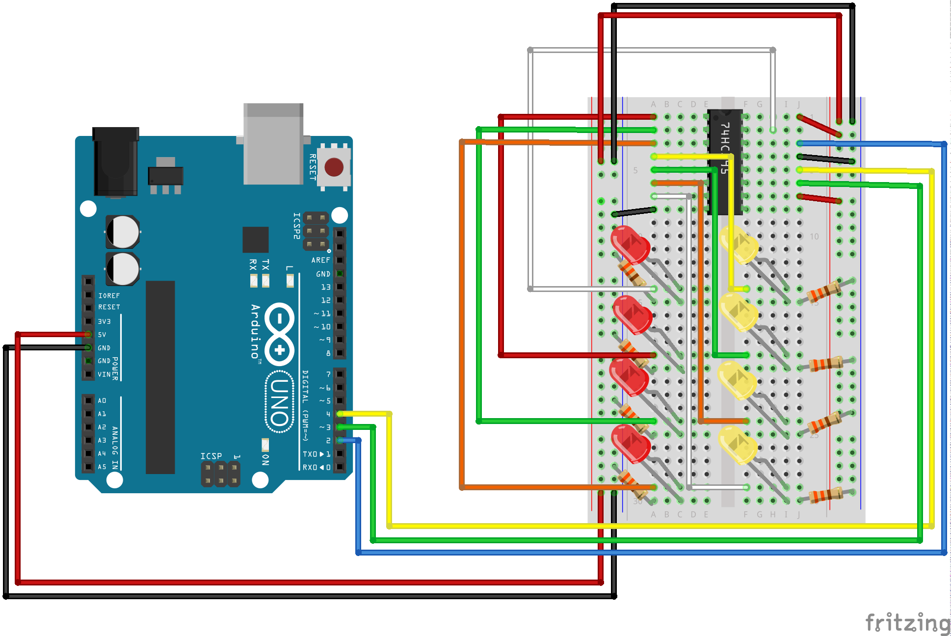 Sik Experiment Guide For Arduino V32 Led Lights Circuit Pdf Hook Up Image