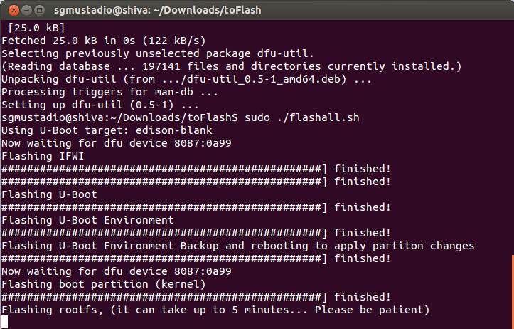 Installing Ubilinux from Ubuntu