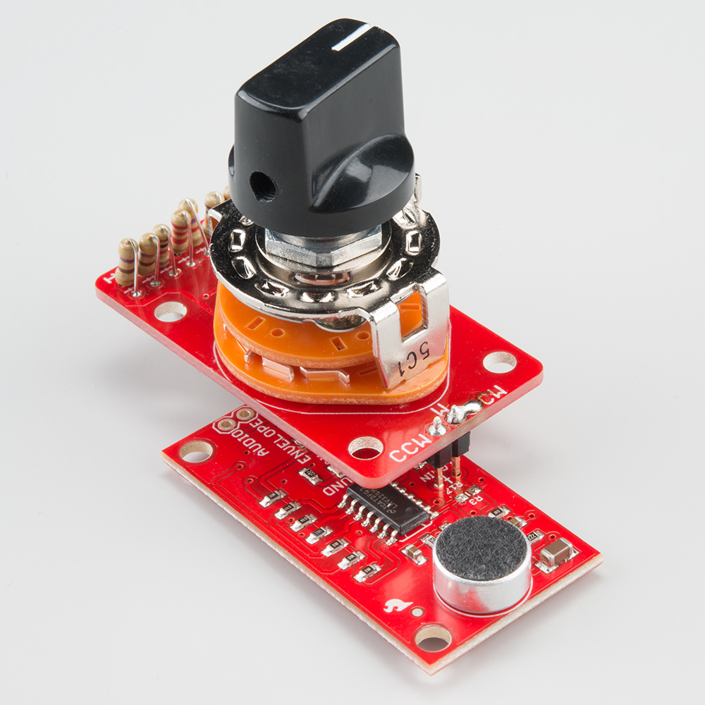 Rotary Switch Potentiometer Hookup Guide Mount The Spdt With Supplied Nut Secure Your Wiring So It Alt Text